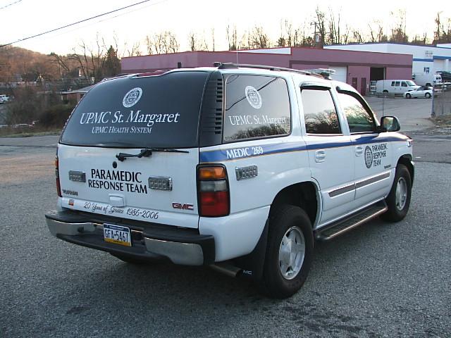 J Marcoz Emergency Vehicle Upmc St Margaret
